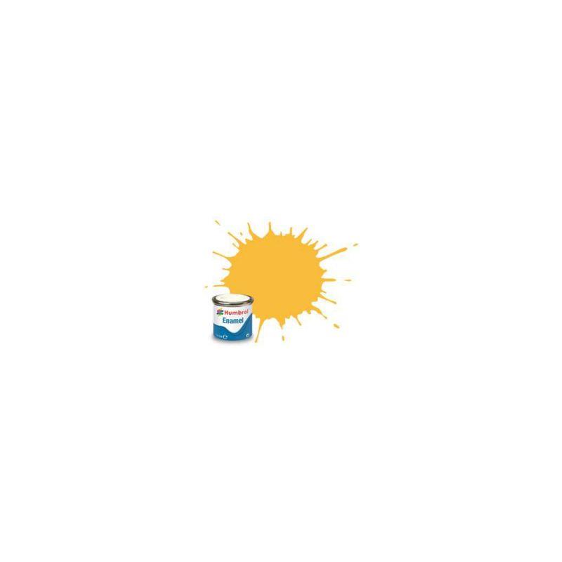 Humbrol emailová barva #24 Trainer žlutá matná 14ml - 1