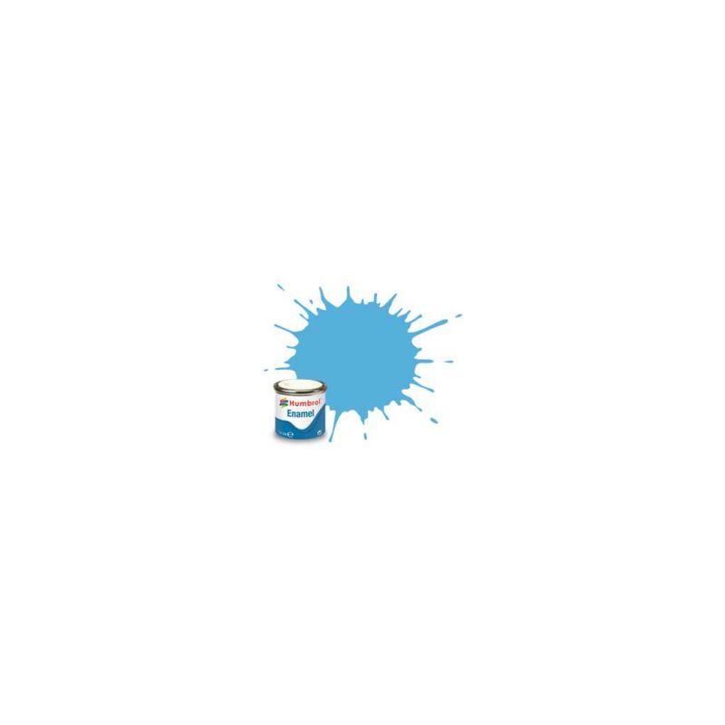Humbrol emailová barva #47 mořská modrá lesklá 14ml - 1