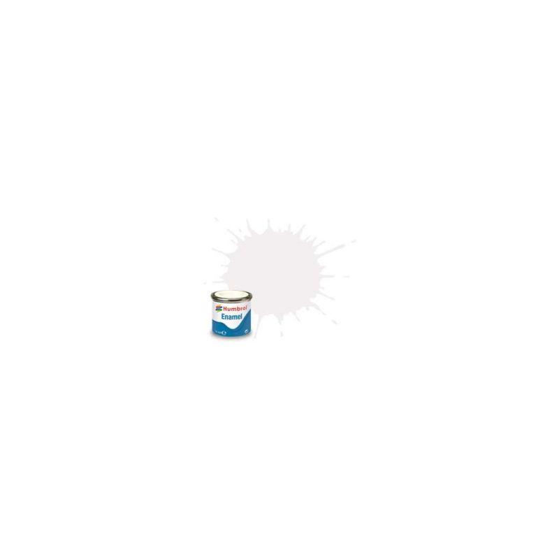 Humbrol emailová barva #49 transparentní matná 14ml - 1