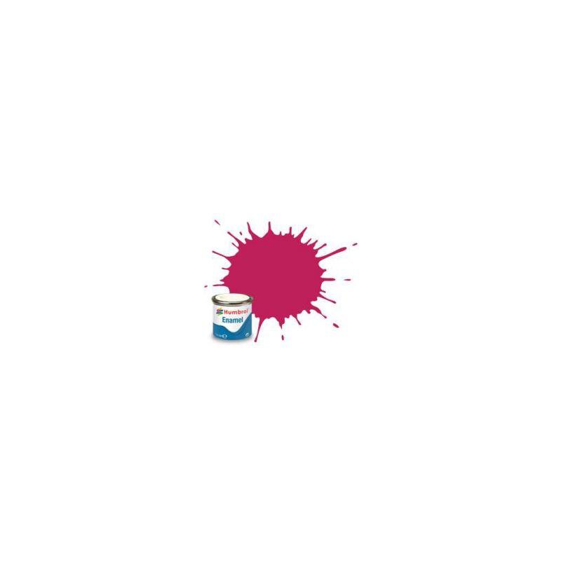 Humbrol emailová barva #51 červená západ slunce metalická 14ml - 1