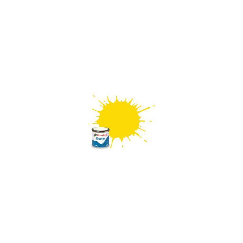 Humbrol emailová barva #69 žlutá lesklá 14ml - 1