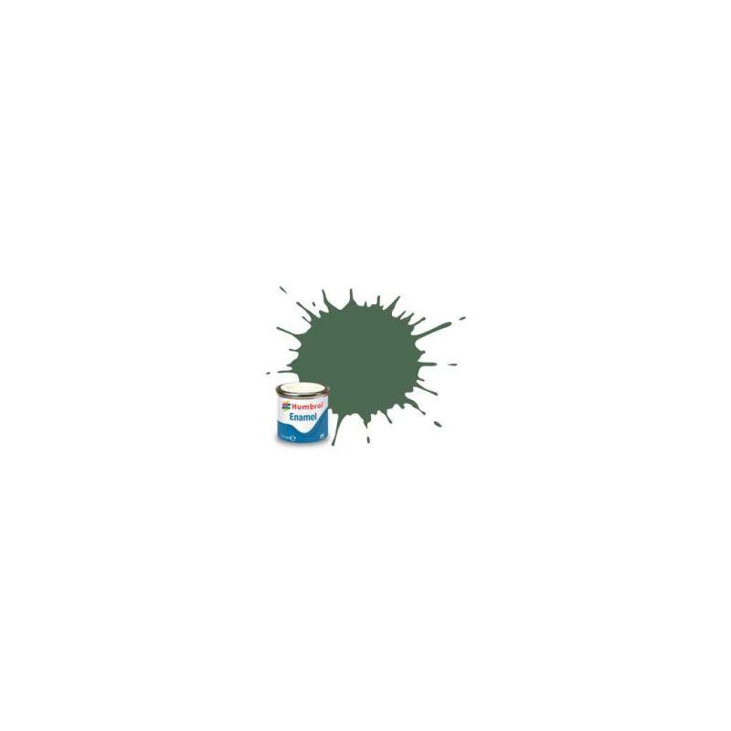 Humbrol emailová barva #76 uniformová zelená matná 14ml - 1