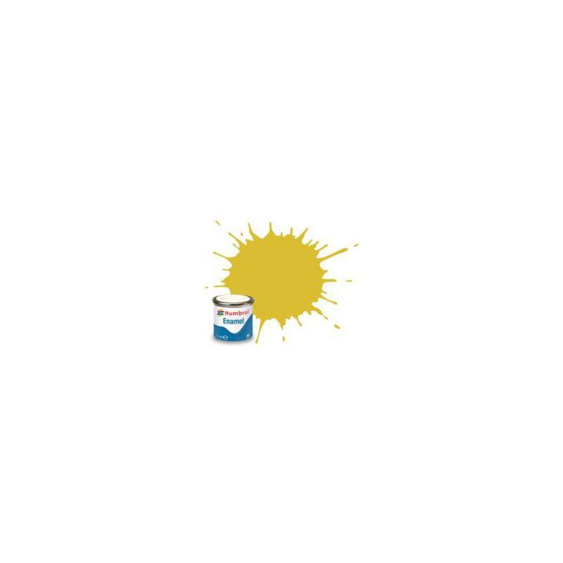 Humbrol emailová barva #81 světle žlutá matná 14ml - 1