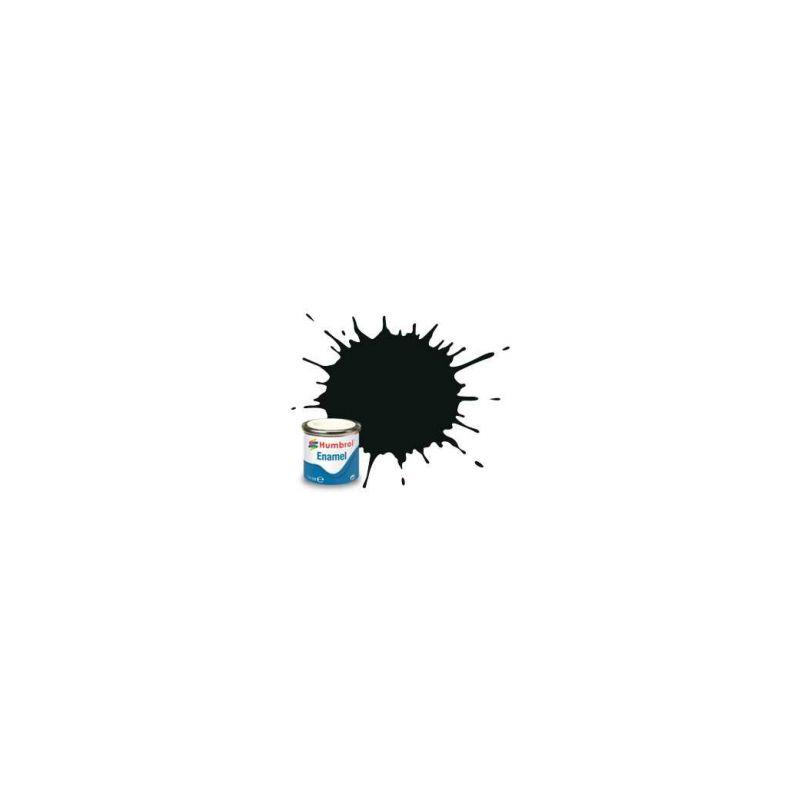 Humbrol emailová barva #91 černozelená matná 14ml - 1