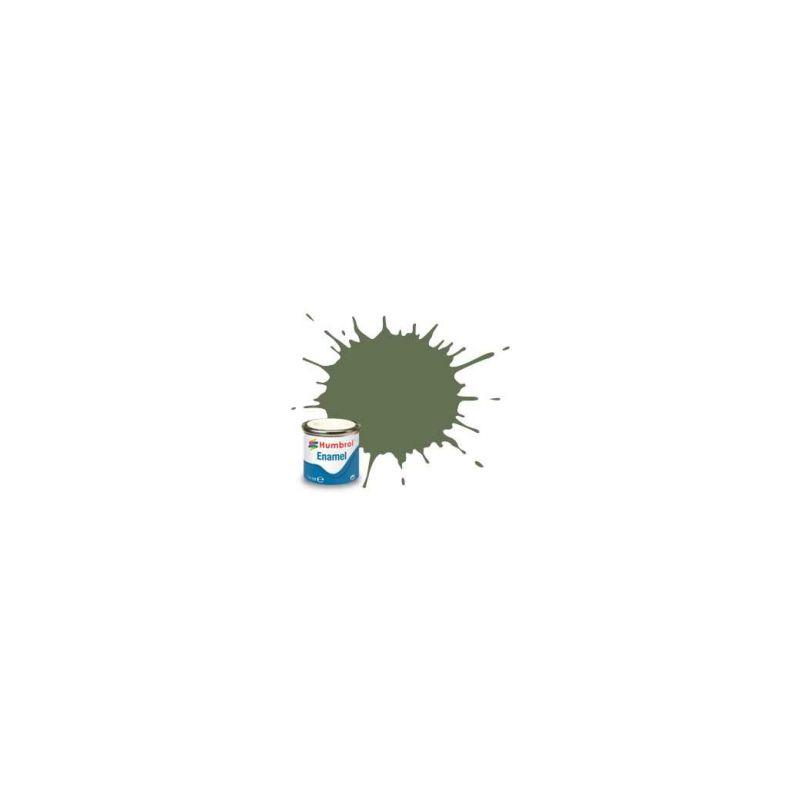 Humbrol emailová barva #102 armádní zelená matná 14ml - 1