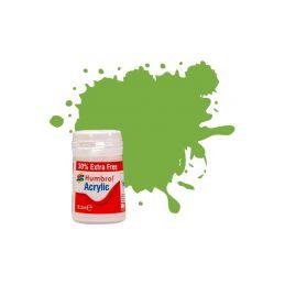 Humbrol akrylová barva #38 limetková lesklá 18ml - 1