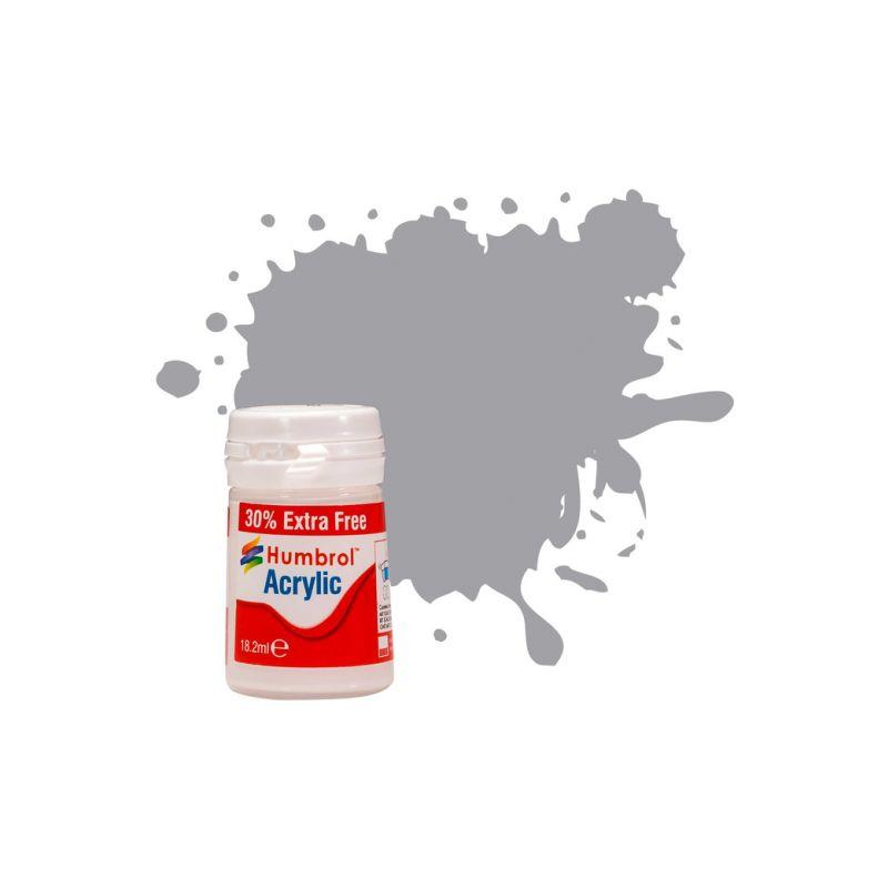 Humbrol akrylová barva #40 šedá základní matná 12ml - 1