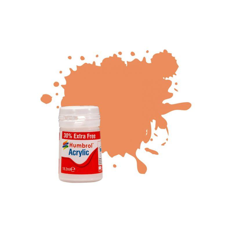 Humbrol akrylová barva #61 pleťová matná 18ml - 1