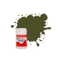 Humbrol akrylová barva #155 olivová šeď matná 18ml - 1