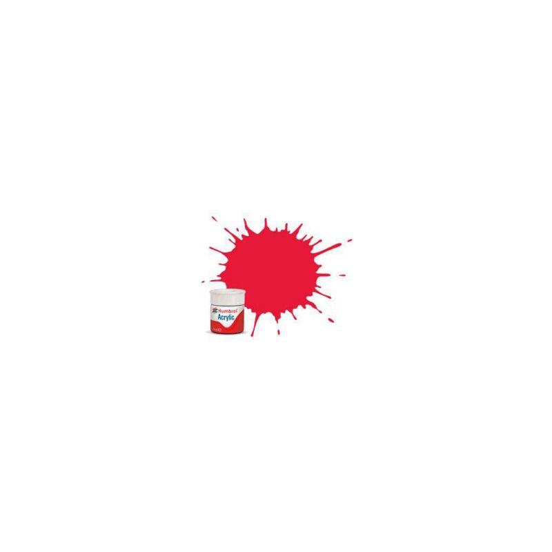 Humbrol akrylová barva #238 Arrow červená lesklá 12ml - 1
