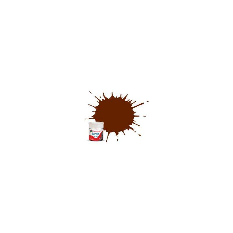 Humbrol akrylová barva #RC403 Crimson Lake matná 14ml - 1