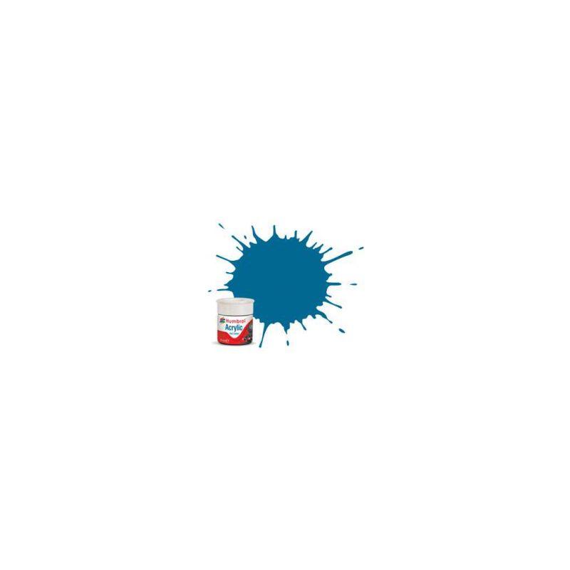 Humbrol akrylová barva #RC404 Garter modrá matná 14ml - 1