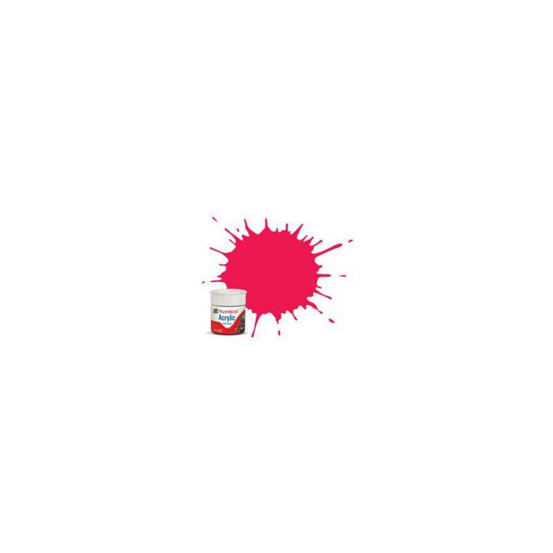 Humbrol akrylová barva #RC406 Buffer Beam červená matná 14ml - 1