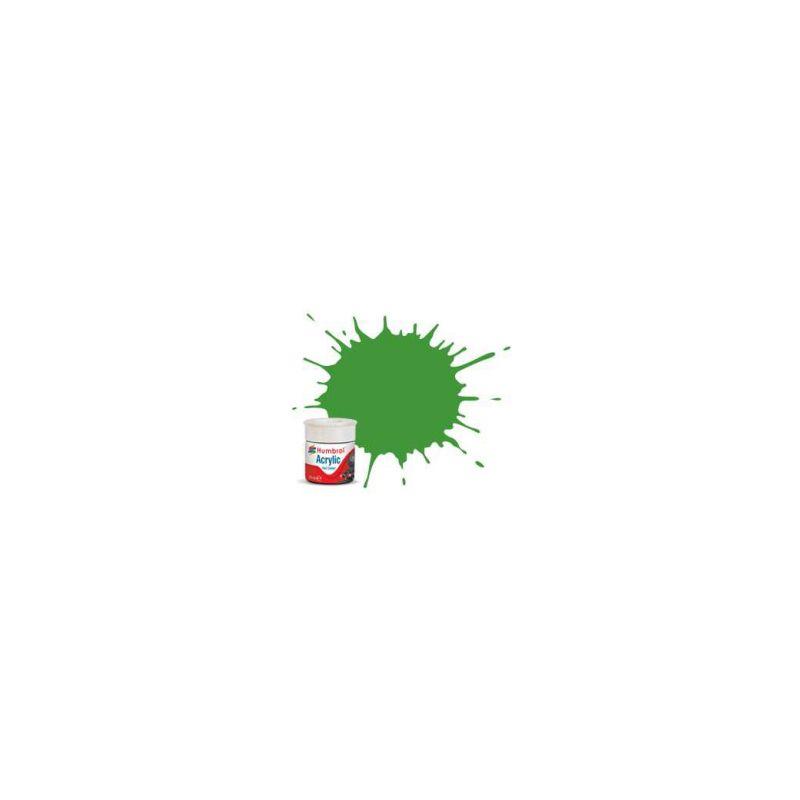 Humbrol akrylová barva #RC408 Apple zelená matná 14ml - 1