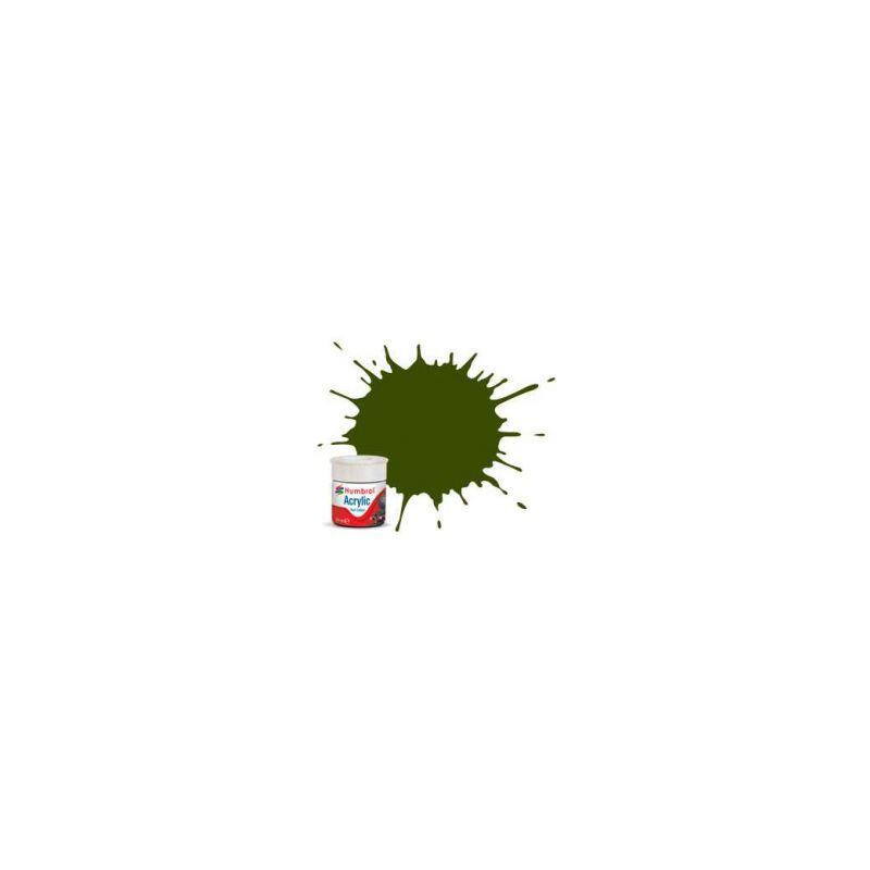 Humbrol akrylová barva #RC410 Maunsell zelená matná 14ml - 1
