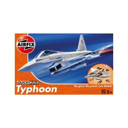 Airfix Quick Build Eurofighter Typhoon - 1