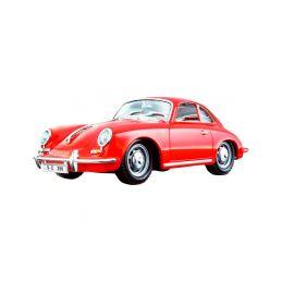 Bburago Porsche 356B Coupe 1961 1:24 červená - 1