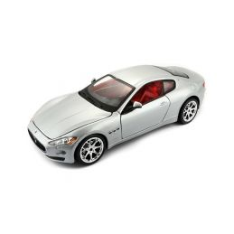 Bburago Maserati GranTurismo 2008 1:24 stříbrná - 1