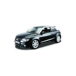 Bburago Audi A1 1:24 černá metalíza - 1
