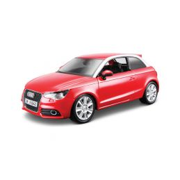 Bburago Audi A1 1:24 červená - 1