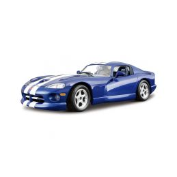 Bburago Kit Dodge Viper GTS Coupe 1996 1:24 modrá - 1