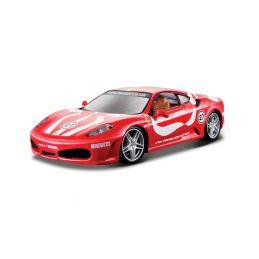 Bburago Ferrari F430 Fiorano 1:24 červená - 1
