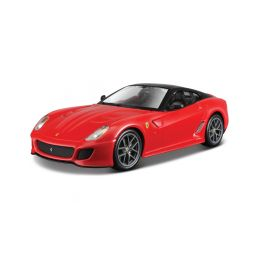 Bburago Ferrari 599 GTO 1:24 červená - 1