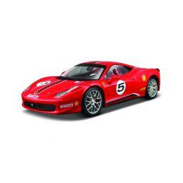 Bburago Ferrari 458 Challenge 1:24 červená - 1