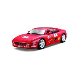Bburago Ferrari F355 Challenge 1:24 červená - 1