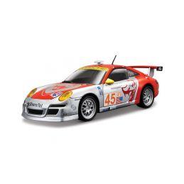 Bburago Porsche 911 GT3 RSR 1:24 stříbrná - 1