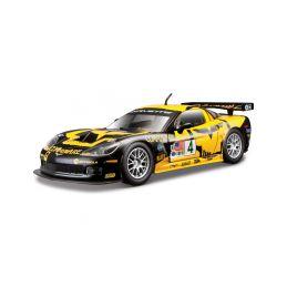 Bburago Chevrolet Corvette C6R 1:24 žlutá - 1