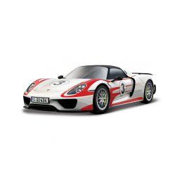 Bburago Porsche 918 Weissach 1:24 bílá - 1