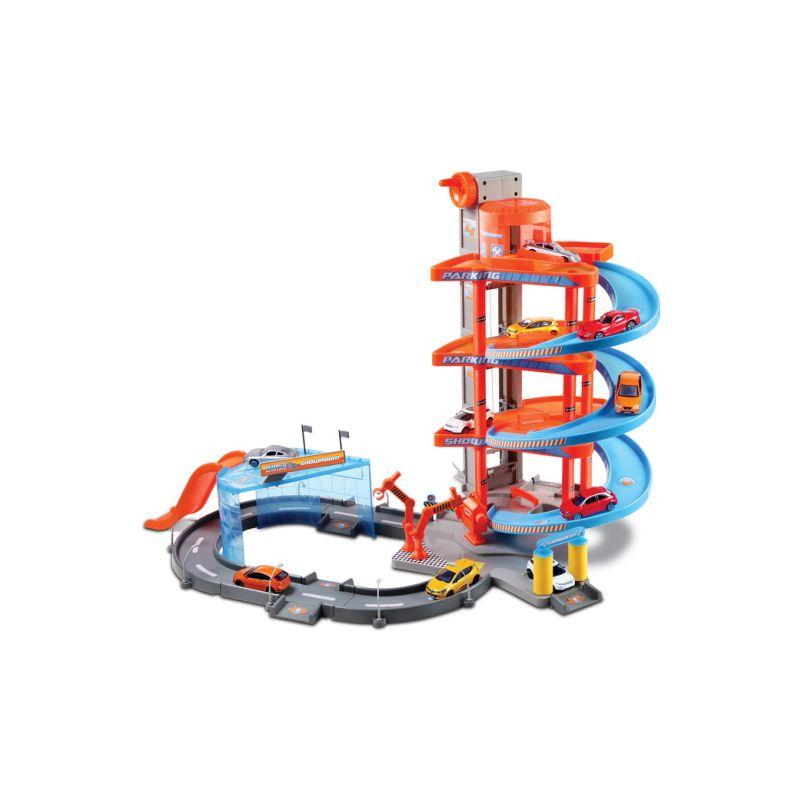 Bburago patrová dráha s výtahem - 1