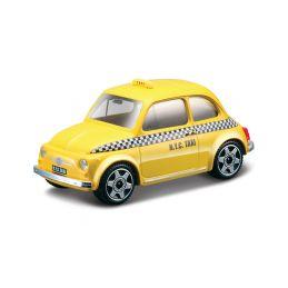 Bburago Fiat 500 Taxi 1:43 žlutá - 1