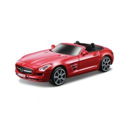 Bburago Mercedes-Benz SLS AMG Roadster 1:43 červená metalíza - 1