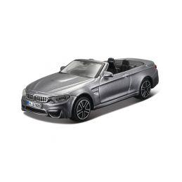 Bburago BMW M4 Cabrio 1:43 šedá metalíza - 1