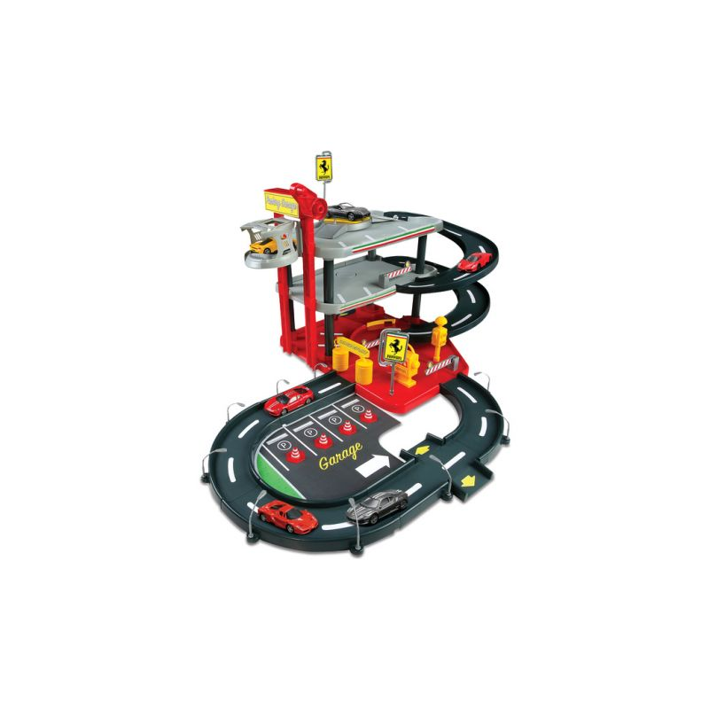 Bburago Ferrari patrová garáž s benzinkou - 1