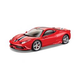 Bburago Signature Ferrari 458 Speciale 1:43 červená - 1