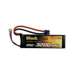 Black Magic LiPol 11.1V 3200mAh 25C EC3 - 1