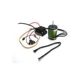 Castle motor 1410 3800ot/V senzored 5mm, reg. Sidewinder SCT - 1