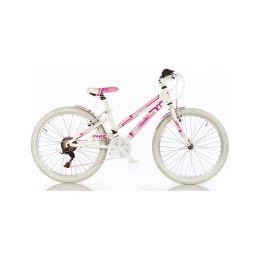 """DINO Bikes - Dětské kolo 24"""" Aurelia Game Kit růžové - 1"""