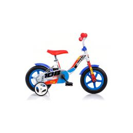 """DINO Bikes - Dětské kolo 10"""" modré - 1"""