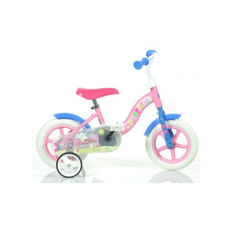 """DINO Bikes - Dětské kolo 10"""" Pepa Pig - 1"""