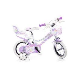 """DINO Bikes - Dětské kolo 12"""" bílé - 1"""