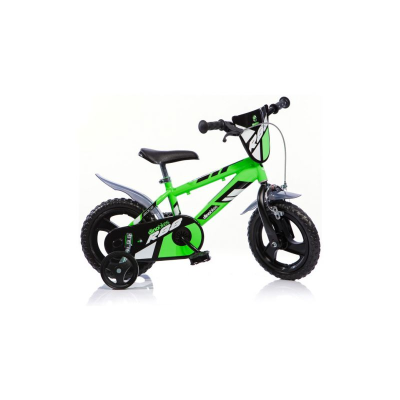 """DINO Bikes - Dětské kolo 12"""" zelené - 1"""