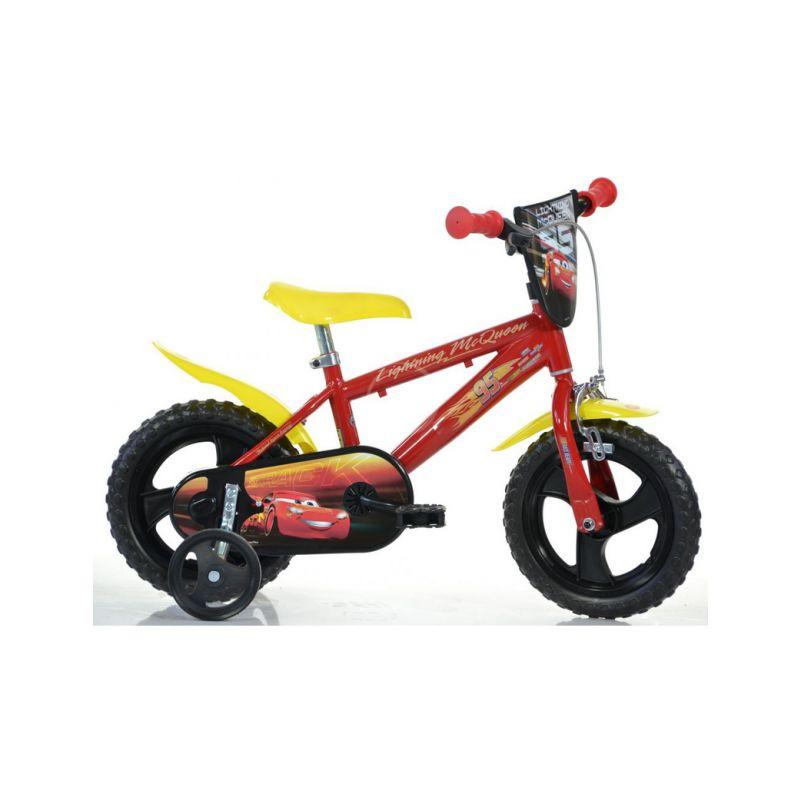 "DINO Bikes - Dětské kolo 12"" Auta 3 - 1"