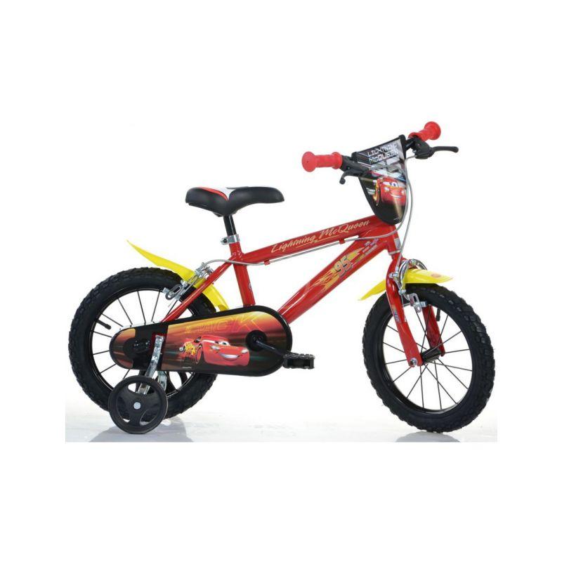 """DINO Bikes - Dětské kolo 16"""" Cars 3 - 1"""