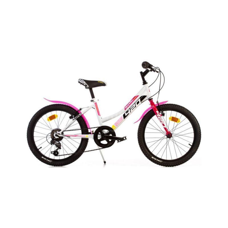 """DINO Bikes - Dětské kolo 20"""" Aurelia 420 Sport růžové - 1"""