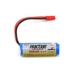 Baterie LiIon 3.7V 650mAh 1S JST React - 1
