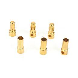 Zlacené konektory 3.5mm (3páry) - 1